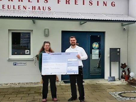 Spendenaktion für den Tierschutzverein Freising