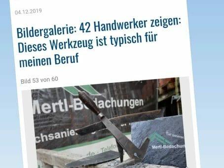 DHZ-Artikel: Wir zeigen ein typisches Dachdecker-Werkzeug