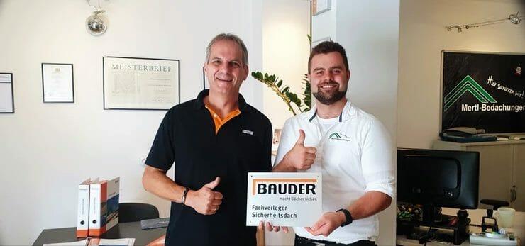 Unser neues Aushängeschild von Bauder! (Übergabe 08/19)